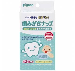 Детские влажные салфетки для чистки зубов