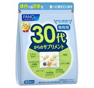 FANCL Витамины для мужчин от 30 до 40 лет