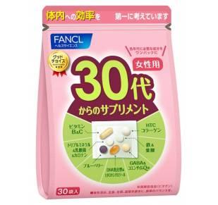 FANCL Витамины для женщин от 30 до 40 лет
