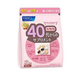 FANCL Витамины для женщин от 40 до 50 лет