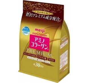 Meiji Амино Коллаген Премиум в мягкой упаковке