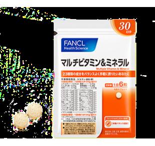 FANCL Мультивитамины и минералы