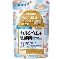 ORIHIRO Жевательные витамины с Кальцием и Лактобактериями