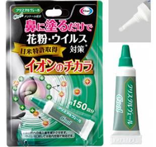 Мазь для защиты от вирусов и аллергенов (ментол)