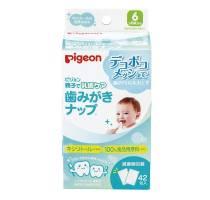 Pigeon Детские влажные салфетки для чистки зубов