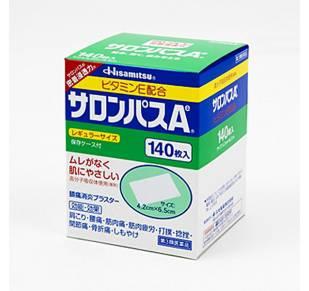 Салонпас - пластырь обезболевающий 140 шт