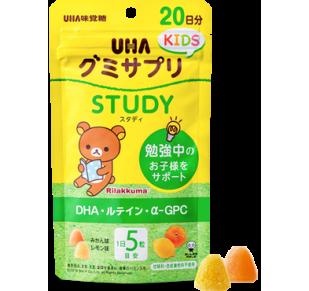 UHA детские витамины STUDY для поддержки умственной активности.