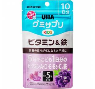 UHA детские мультивитамины и Железо