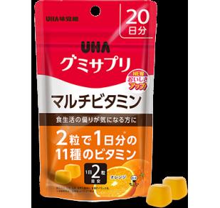 UHA Мультивитамины со вкусом апельсина